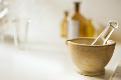 portait of mortar and pestle