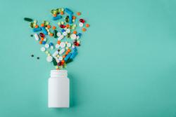 various medications and vitamins