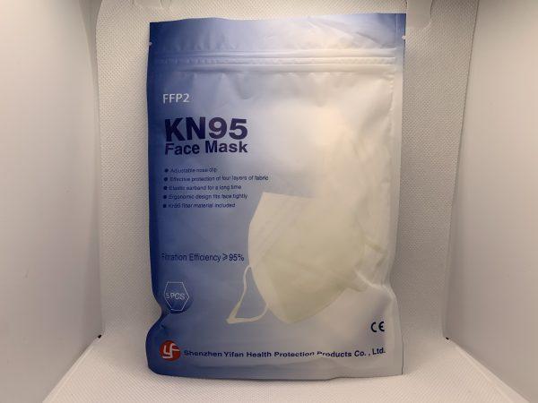 KN95 MASK 5 CT